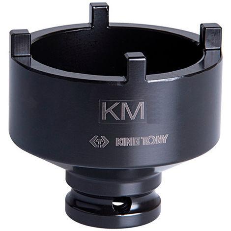 Douille à choc à ergots extérieurs 1/2 pour écrous à encoches - KM6 D. 45 mm L. 60 mm