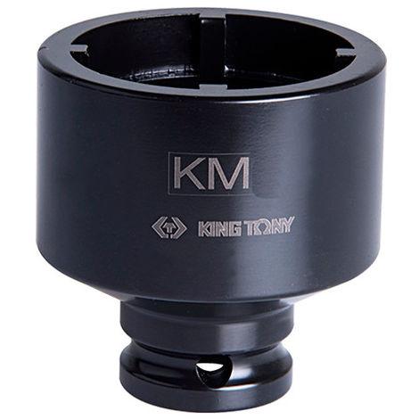 Douille à choc à ergots intérieurs 1/2 pour écrous à encoches - KM7 D. 52 mm L. 60 mm - -