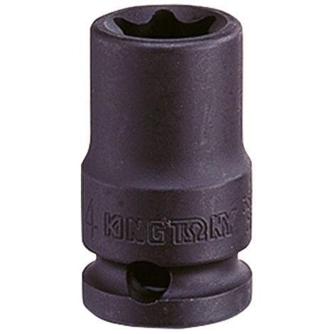 Douille à choc standard pour vis mâles Torx 3/8 - E12 L. 32 mm - -