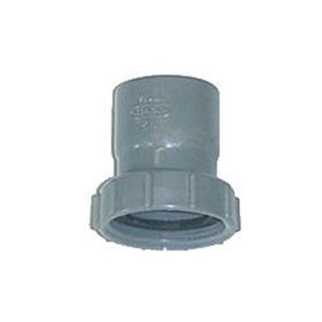 Douille à écrou prisonnier en PVC - Diamètres 32 - 33/42