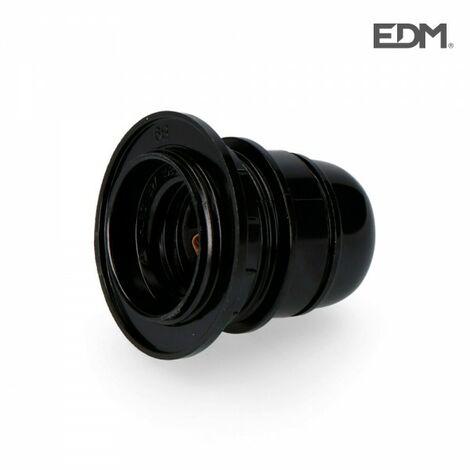 Douille à visser e27 homologuée + anneau sous fil rétractable edm