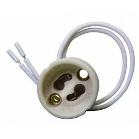 Douille Culot GU10 pour Ampoule Halogène ou Led