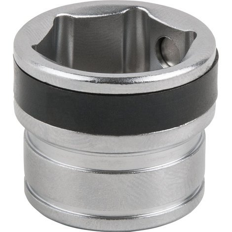 Douille de vidange magnétique 6 pans, 17 mm