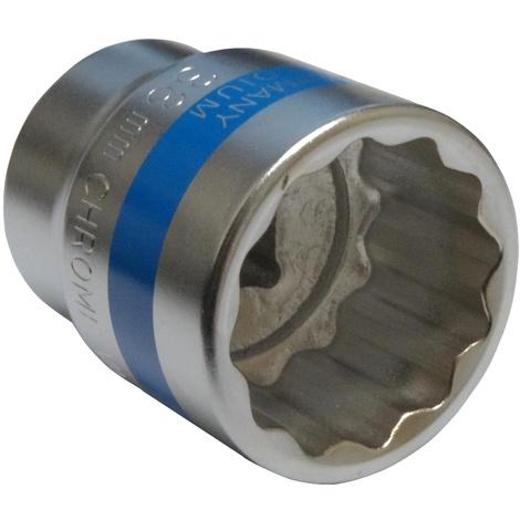 Aerzetix Douille de vissage /à choc Torx T45 noire en acier Cr-Mo haute qualit/é professionnelle pour outils pneumatiques