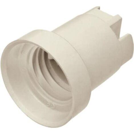 Douille E27 porcelaine avec trou M4