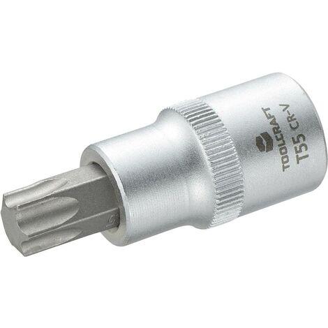 Douille-embout TORX® intérieur T 55 Longueur: 55 mm TOOLCRAFT 816169 Propulseur (tournevis): 1/2 (12.5 mm) 1 pc(s)