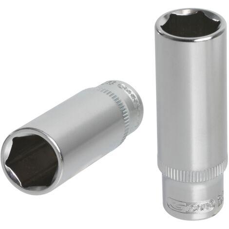 Douille longue ULTIMATE® 6 pans 1/4, 10 mm KS TOOLS 922.1430