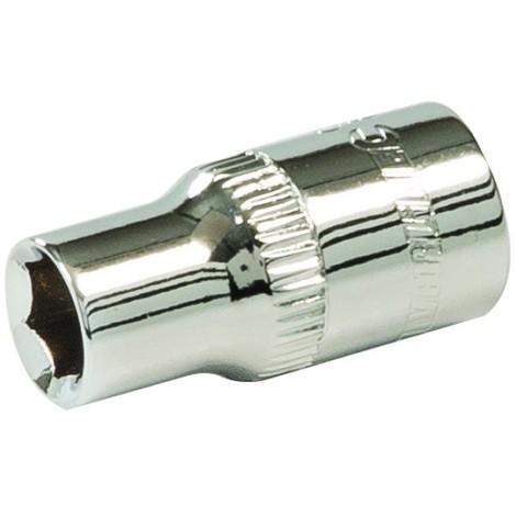 Silverline Double-Hexagonal-Douille métrique 1//4 Pouces-Entraînement 6 mm