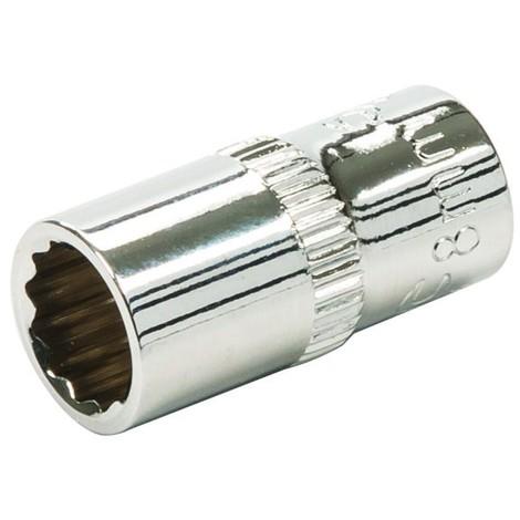 Douille métrique 1//2 Pouces-Entraînement douille utilisation 27 mm Silve...