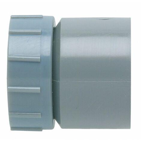 Douille PVC avec écrou joint EPDM M - plusieurs modèles disponibles