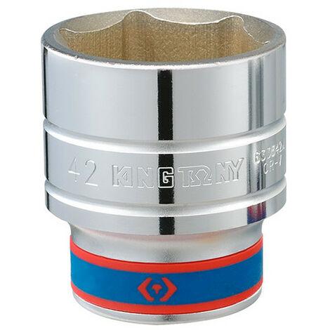 Douille standard métrique 6 pans - 38 mm - -