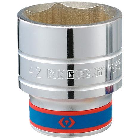 Douille standard métrique 6 pans - 45 mm - -
