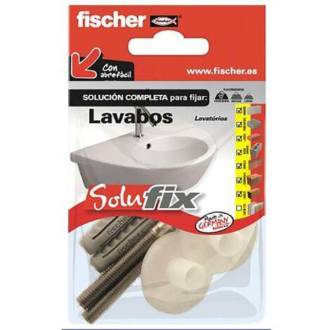 Douilles de fixation d'évier Vis + Support Fischer Nylon Solufix 502695