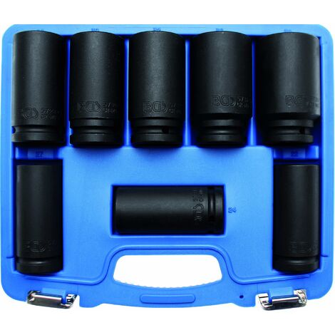 DOUILLES IMPACT A CHOC LONGUES 6 PANS CARRE 3/4 COFFRET BGS TECHNIC