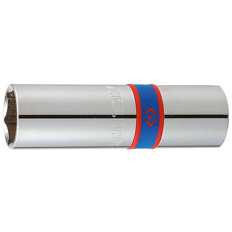 Douilles pour bougies 1/2 6 pans - 16 mm L. 70 mm - -