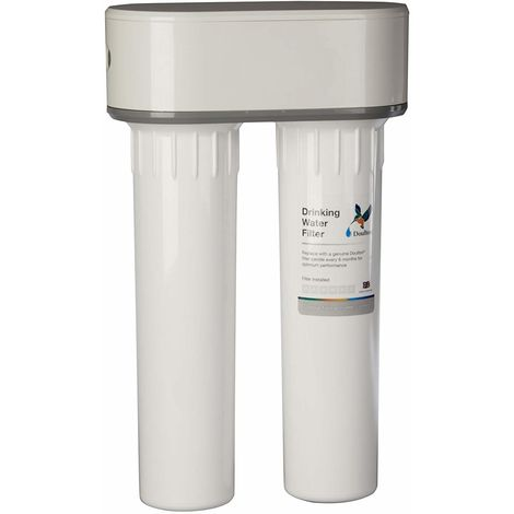 Doulton HIP DUO bajo encimera. Filtro doble purificador de agua. Fabricado en pl