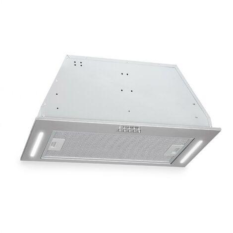 Down Under Campana extractora para empotrar 60 cm Extracción de aire: 590 m³/h LED Acero inoxidable