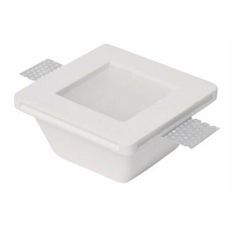 Downlight carré de plâtre de haute-Ledco Verre GE1020/G
