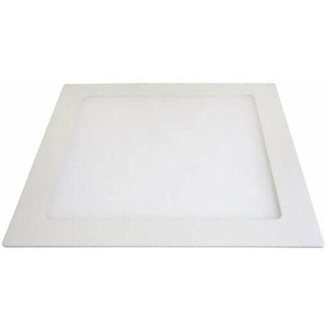 Downlight carré extrafin 12W - Tour Blanc - Blanc du Jour 6000K
