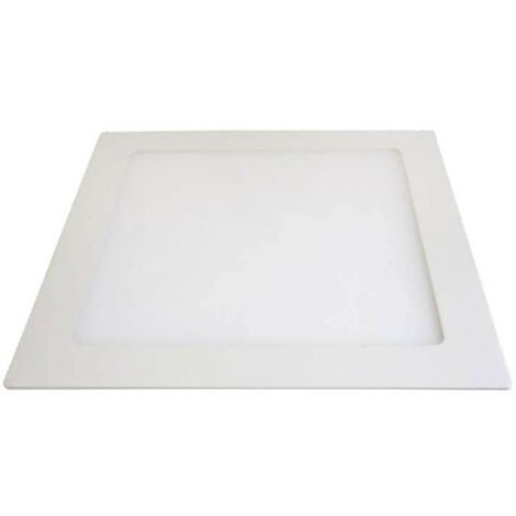 Downlight carré extrafin 12W - Tour Blanc - Blanc Naturel 4200K