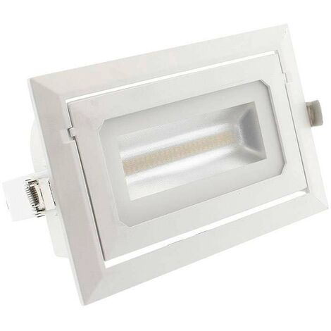 Downlight Cronolux LED 36W, regulable TRIAC, CCT ajustable, Blanco dual, regulable