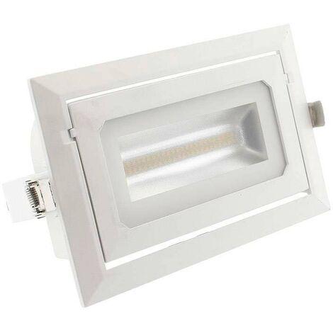 Downlight Cronolux LED 40W, CCT ajustable, OSRAM, Blanco dual, regulable - Blanco dual