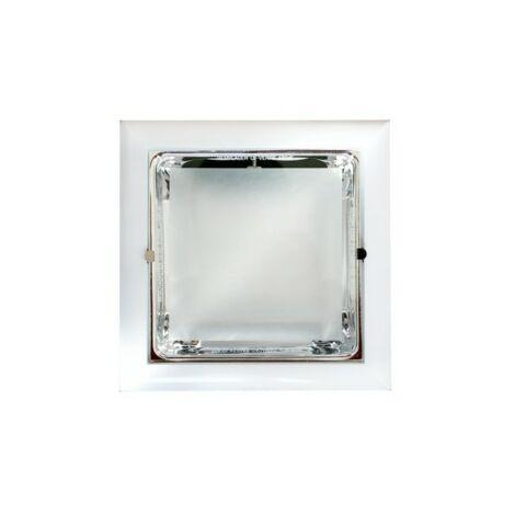 Downlight Cuadrado 2x18w E27 Cromo 80.056cr