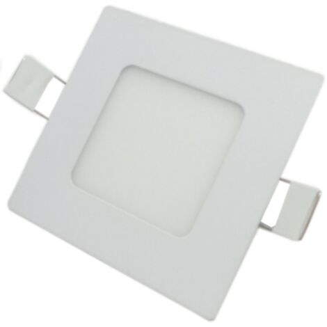 Downlight Dalle LED Extra Plate Carré 3W 120