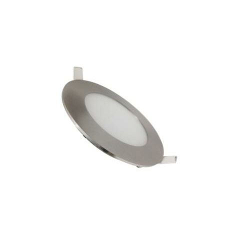 Downlight Dalle LED Extra Plate Ronde ALU 3W - Blanc Chaud 2300K - 3500K