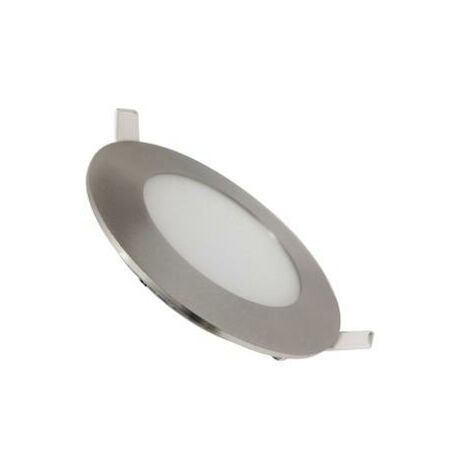 Downlight Dalle LED Extra Plate Ronde ALU 3W - Blanc Froid 6000K - 8000K