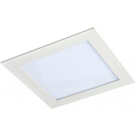 Downlight Empotrable Cuadrado Led Agamenom 18W Blanco -Disponible en varias versiones