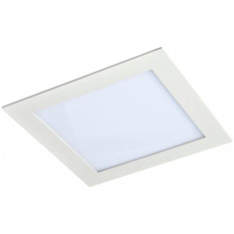 Downlight Empotrable Cuadrado Led Agamenom 24W Blanco -Disponible en varias versiones