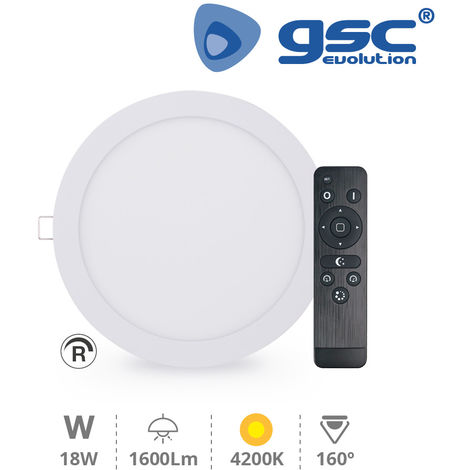 Downlight empotrable Olimpia 18W 4200K regulable