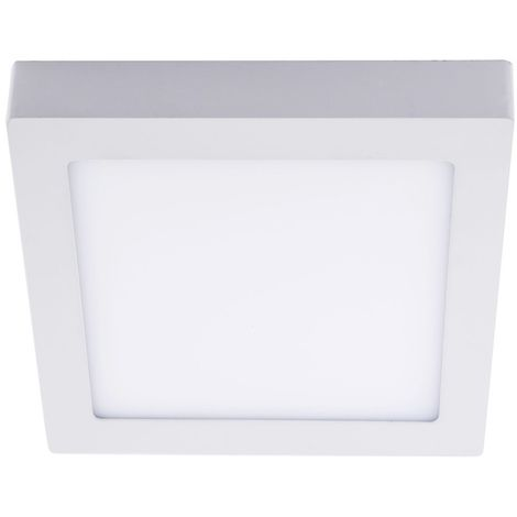 Downlight LED 18W 4000K Know cuadrado blanco CRISTALRECORD 02-600-18-400
