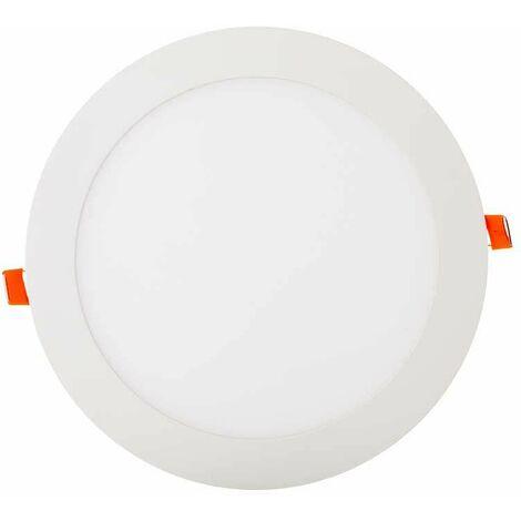 Downlight led extraplano circular blanco 18W 120° PLUS Temperatura de color - 3000K Blanco cálido