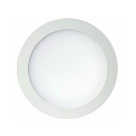 Downlight led 20W 1561Lm luz natural 4000K d225mm blanco Jiso