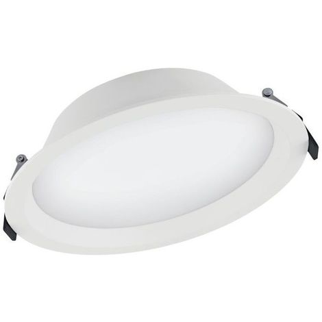 Downlight LED 35W 3000K d.215mm IP44 Blanco Ledvance