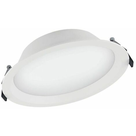Downlight LED 35W 4000K d.215mm IP44 Blanco Ledvance