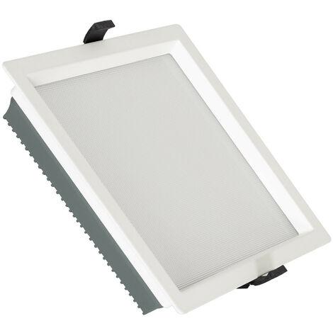Downlight LED 40W SAMSUNG New Aero Slim Cuadrado 130 lm/W (UGR17) LIFUD Corte 210x210 mm Blanco Cálido 3000K - Blanco Cálido 3000K