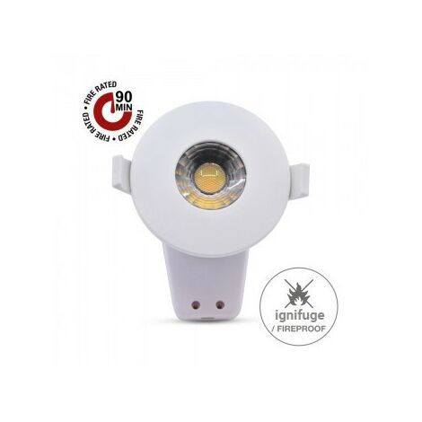 Downlight LED 8W CCT ignifuge