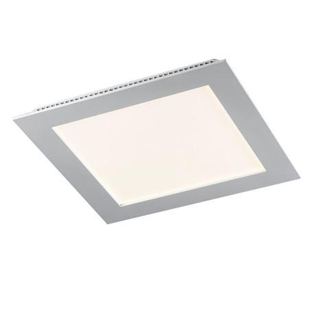 Downlight LED 9W 4200K cuadrado empotrar blanco