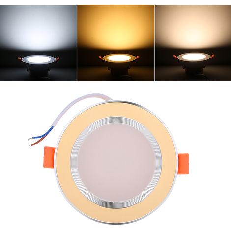 Downlight LED, AC85-265V 5W, dorado