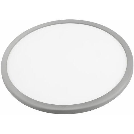 Downlight led ajustable redondo gris 20w fría