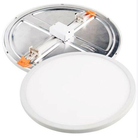Downlight Led Aluminio Redondo Blanco 15W 1500Lm (Ajustable) Matel