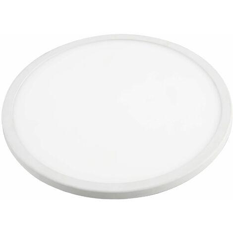 Downlight Led Aluminio Redondo Blanco 20W 2000Lm (Ajustable) Matel