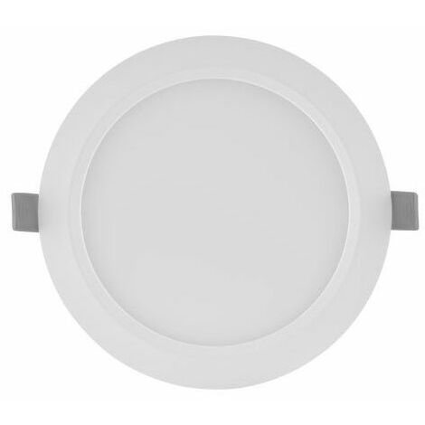 Downlight LED blanco Slim 6W luz fría 6500K Ø118mm Ledvance