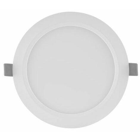 Downlight LED blanco Slim 6W luz neutra 4000K Ø118mm Ledvance
