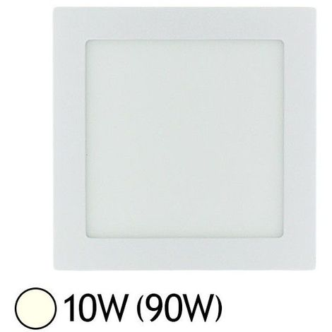 Downlight LED Carré Extra-plat (Panel LED) 10W