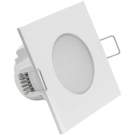 Downlight LED Carré Waterproof IP54 5W