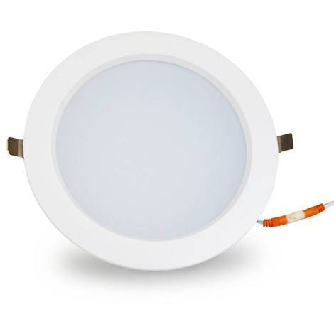 Downlight LED circular empotrable 38W